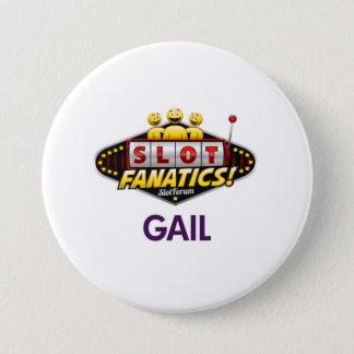 Badge Rond 7,6 Cm Bouton de Gail kc