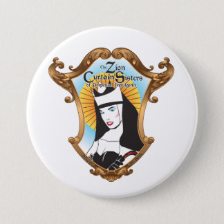 Badge Rond 7,6 Cm Bouton de soeur de Zion