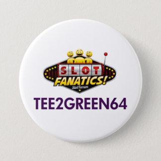 Badge Rond 7,6 Cm Bouton de Tee2Green64 kc