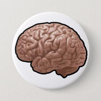 Badge Rond 7,6 Cm Bouton d'esprit humain