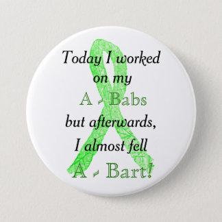 Badge Rond 7,6 Cm Bouton d'humour de la maladie de Lyme