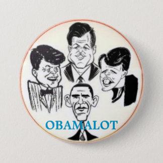 Badge Rond 7,6 Cm Bouton d'Obamalot 3-Inch
