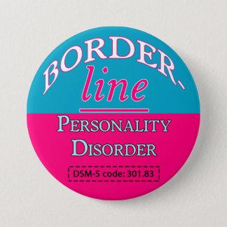 Badge Rond 7,6 Cm Bouton du trouble de la personnalité limite DSM-5