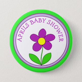 Badge Rond 7,6 Cm Bouton personnalisé de baby shower