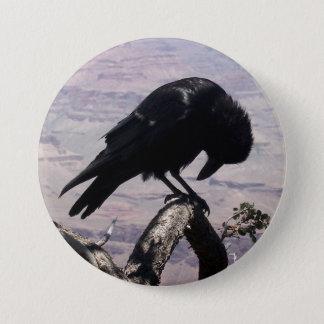 Badge Rond 7,6 Cm Bouton triste 01 de Raven