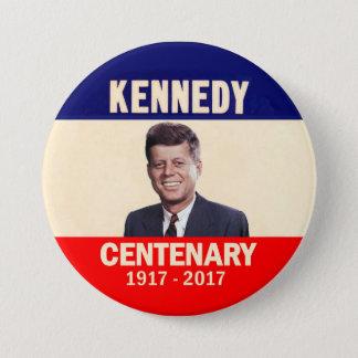 Badge Rond 7,6 Cm Centenaire de Kennedy 1917 - 2017