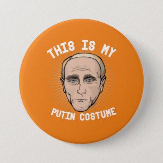 Badge Rond 7,6 Cm C'est mon costume de Vladimir Poutine - Hall