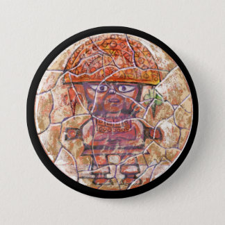 Badge Rond 7,6 Cm Couleur de Naymlap - bouton stupéfiant du Mexique