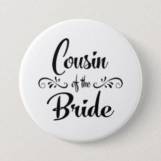 Badge Rond 7,6 Cm Cousin du dîner de répétition de mariage de jeune