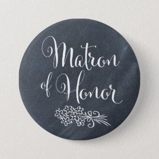 Badge Rond 7,6 Cm Dame de honneur de tableau