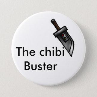 Badge Rond 7,6 Cm Épée de type de Chibi