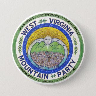 """Badge Rond 7,6 Cm """"Esprit de la partie de montagne"""", 3 po. bouton"""