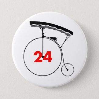 Badge Rond 7,6 Cm Esprit-Lecteur 24