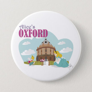 Badge Rond 7,6 Cm Insigne d'Oxford d'Alice