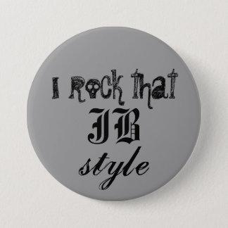 Badge Rond 7,6 Cm Je bascule ce style de JB