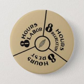 Badge Rond 7,6 Cm jeu de travail du sommeil 8