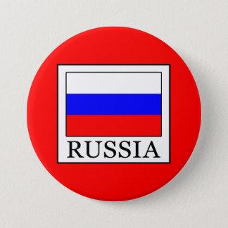 Badge Rond 7,6 Cm La Russie