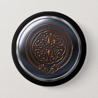Badge Rond 7,6 Cm Le cuivre adoube le bouclier de cercle