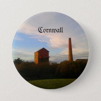 Badge Rond 7,6 Cm Les Cornouailles