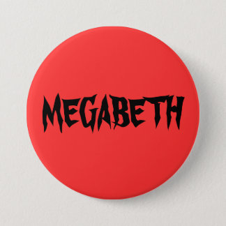 BADGE ROND 7,6 CM MEGABETH