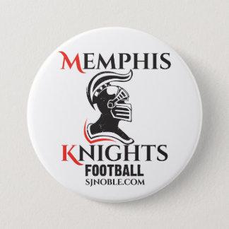 Badge Rond 7,6 Cm Memphis adoube le bouton de logo