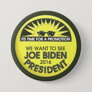 Badge Rond 7,6 Cm Nous voulons voir le président de Joe Biden en