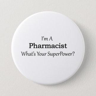 Badge Rond 7,6 Cm Pharmacien