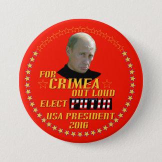 Badge Rond 7,6 Cm Poutine pour le président Etats-Unis 2016