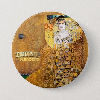 Badge Rond 7,6 Cm Président de l'atout 4