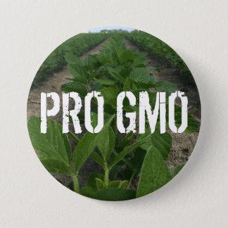 Badge Rond 7,6 Cm Pro bouton de GMO