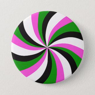 Badge Rond 7,6 Cm Rétro bouton de remous d'art de bruit de mod