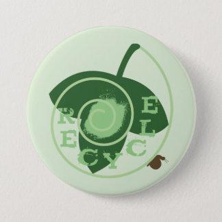 Badge Rond 7,6 Cm Réutilisez le bouton