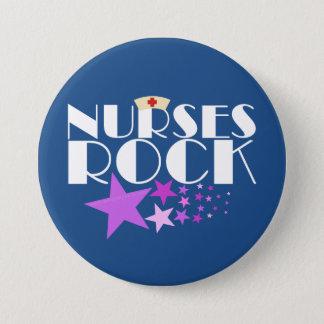 Badge Rond 7,6 Cm Roche d'infirmières