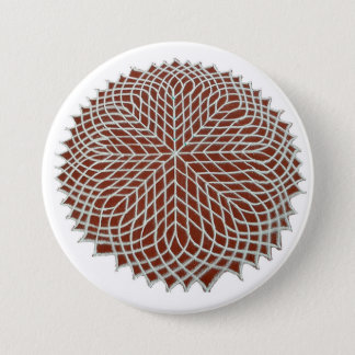 Badge Rond 7,6 Cm Sahasradala - la couronne Chakra