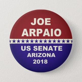 Badge Rond 7,6 Cm Sénat de Joe Arpaio USA Arizona 2018