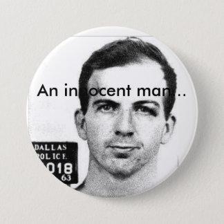 Badge Rond 7,6 Cm Un homme innocent