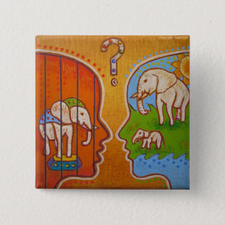 Badge vegan circus