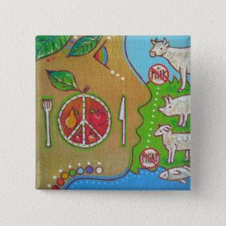 Badge vegan plate