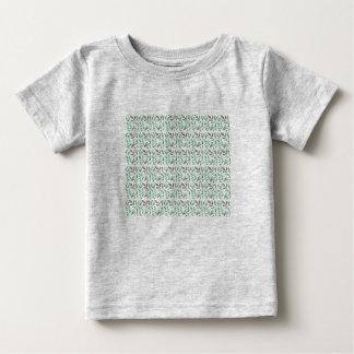 Badine le T-shirt avec le feuille