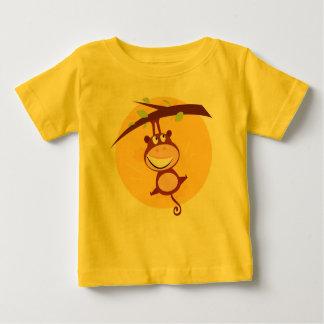 Badine le T-shirt avec le singe : L'AFRIQUE.