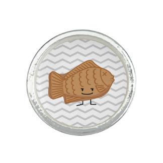Bague Nourriture Poisson-Formée japonaise de festival de