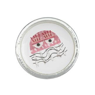 Bagues Avec Photo Anneau de peigne de méduses