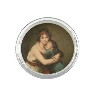 Bagues Elisabeth avec sa fille 1780-1819