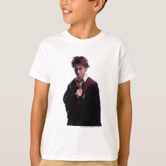 Baguette magique de Harry Potter augmentée T-shirt