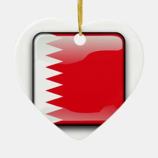 Bahrain Ornement Cœur En Céramique