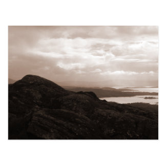 Baie de Bantry, route Irlande de tunnel. Couleurs Carte Postale
