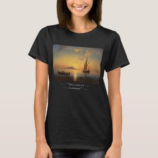 Baie de waterscape de paysage marin de Naples Ivan T-shirt