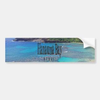Baie Hawaï de Hanauma Autocollant De Voiture
