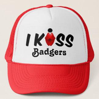 Baiser de casquette j'embrasse des blaireaux