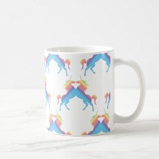 Baisers des licornes mug blanc